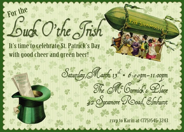 for the luck of the irish its st patricks day and time to celebrate