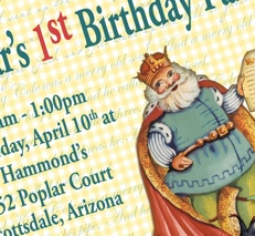 Vintage Imagery Hark Back To Old Favorite Nursery Rhymes And Will Put All Guests In The Mood For A Fun Birthday Celebration