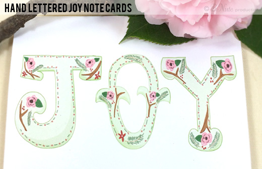 Joy Note Cards