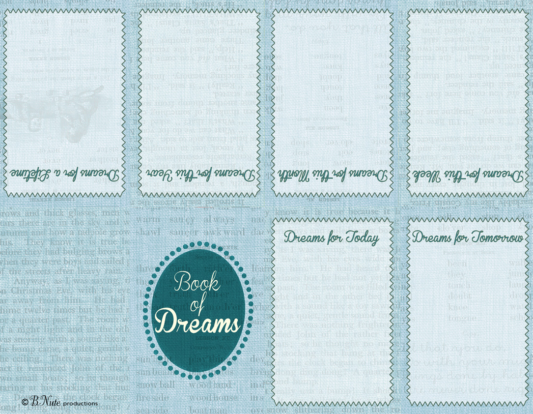 bnute productions: Gettin\' Crafty: DIY Little Book of Dreams and ...