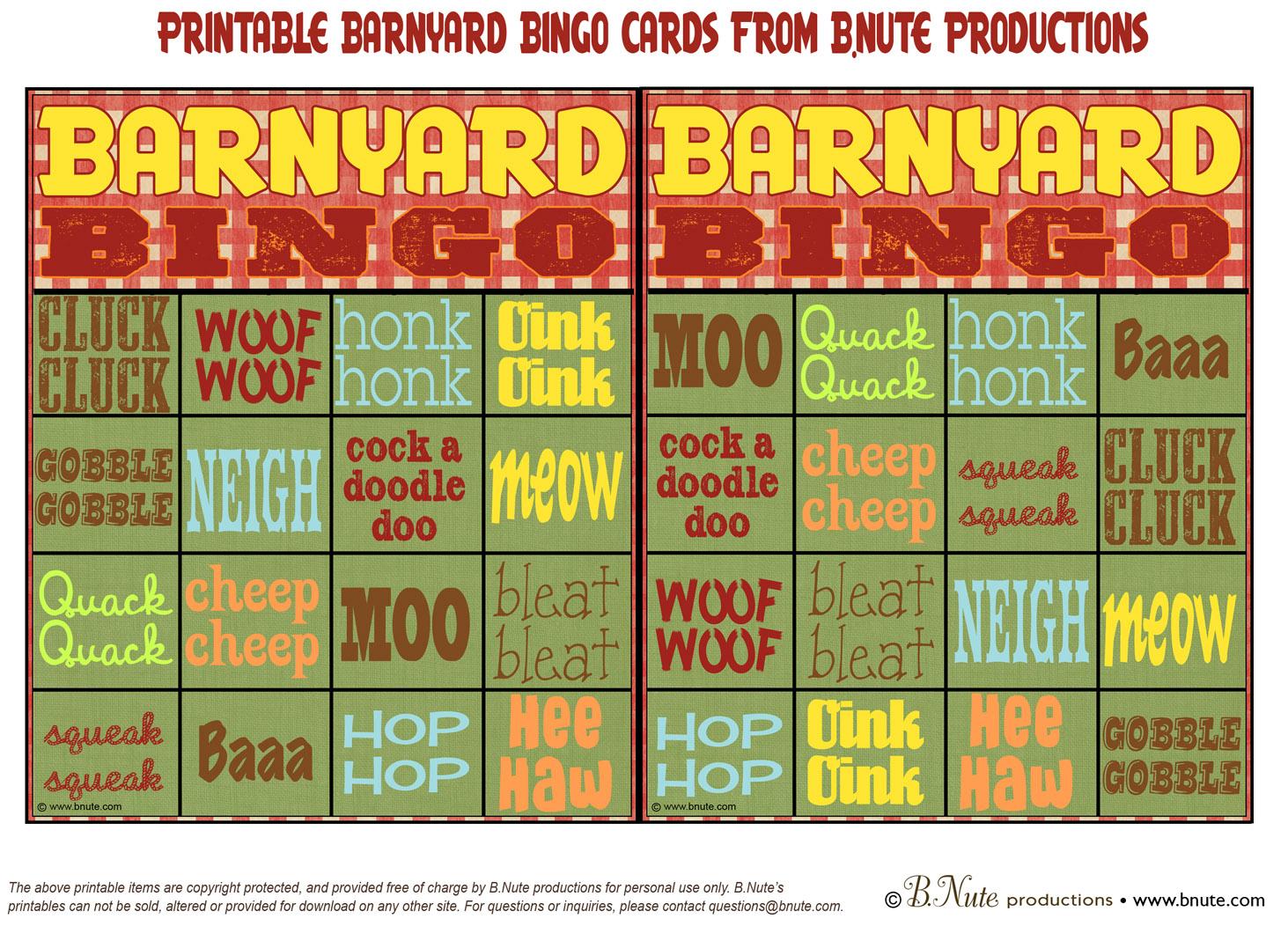 barnyard game